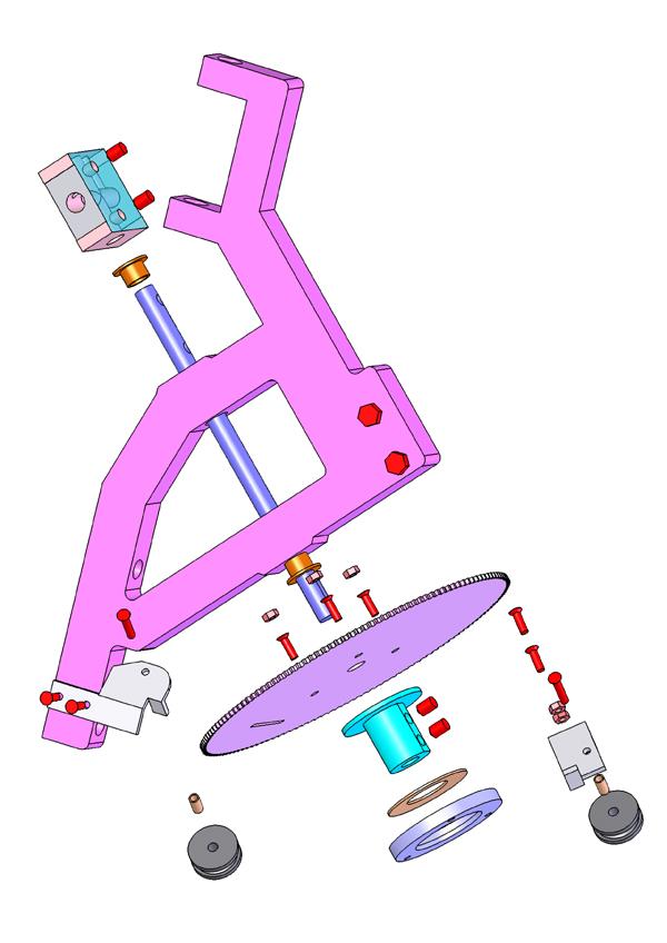 eclate axe roue