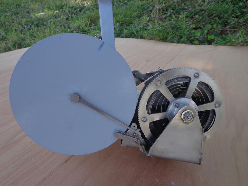 actionneur mécanique vue coté roue