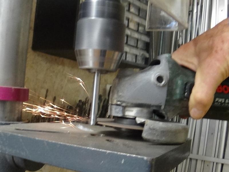tronçonnage perpendiculaire facile avec deux outils