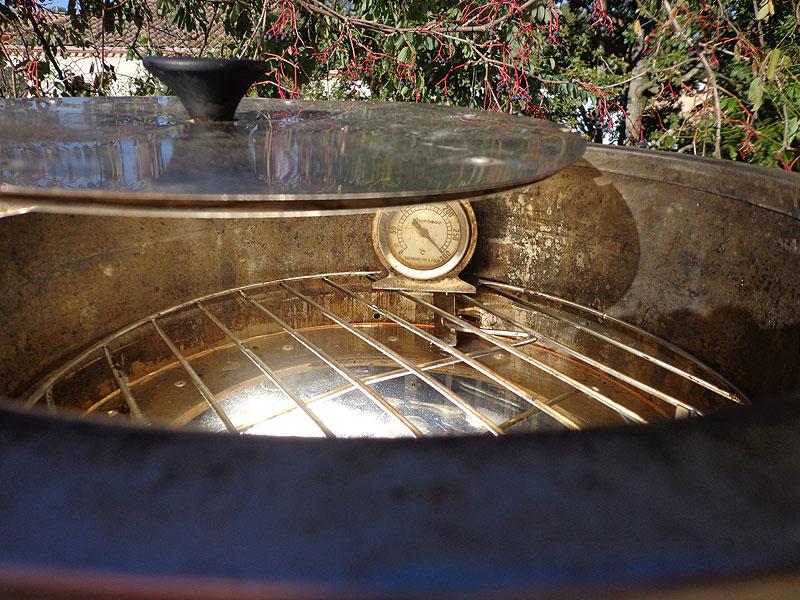 300 deg temperature atteinte dans de bonnes conditions