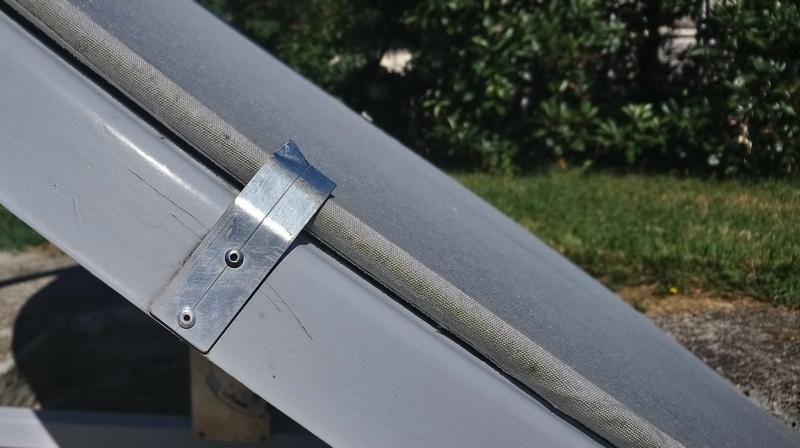 glissière écran de protection