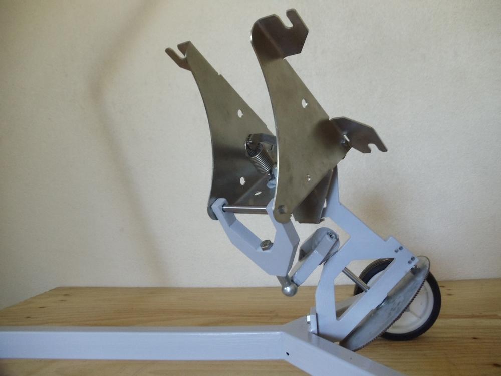 principe mécanique parallelogramme 2009