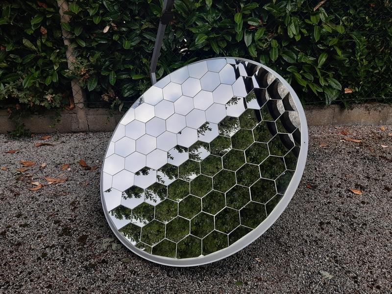 Parabole acier LABEL.ws AC115LX 120x110 cm- miroirs 120 mm