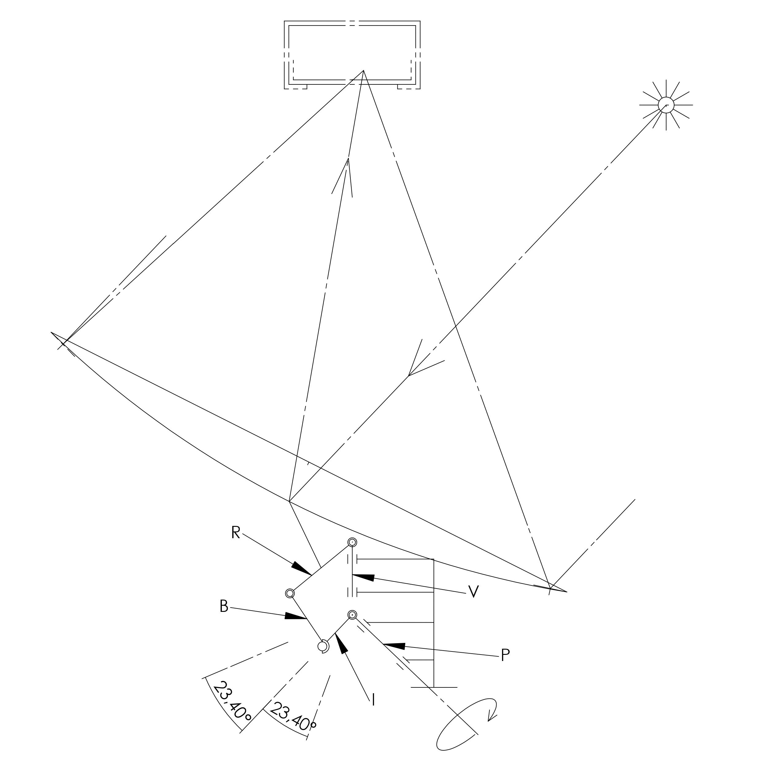 schéma mécanisme parallélogramme