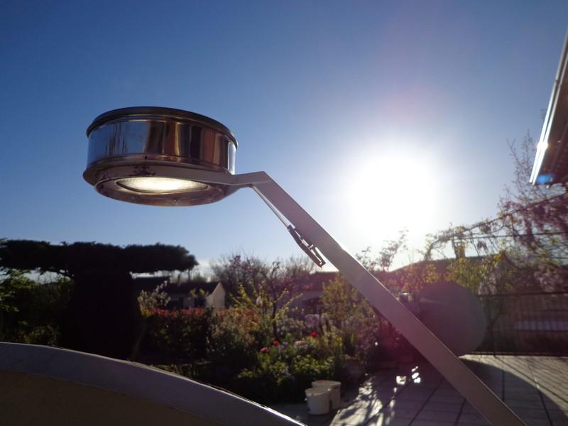au couchant et sans intervention manuelle, le faisceau solaire est toujours vertical